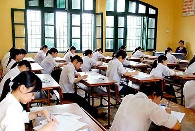 Bộ giáo dục công bố 4 môn thi cho kỳ thi Quốc Gia chung